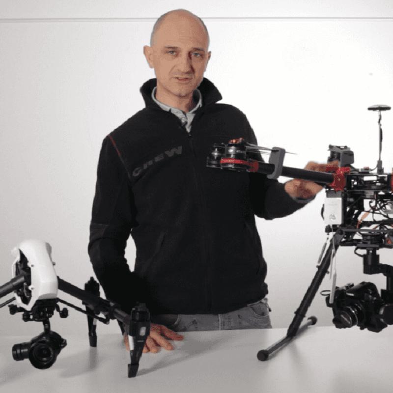 I droni visti da dietro… le quinte