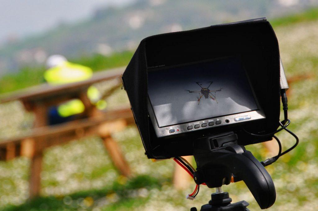 Valore legale delle immagini registrate con droni