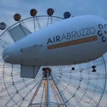 Dirigibile per videoriprese aeree