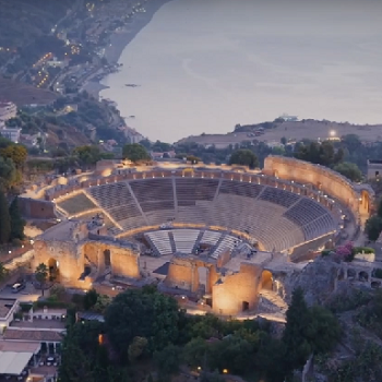 Videoriprese Anfiteatro di Taormina