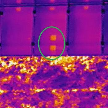 Ispezione di un impianto fotovoltaico