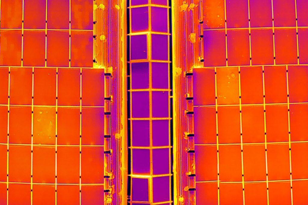 Ispezioni aeree con gli infrarossi