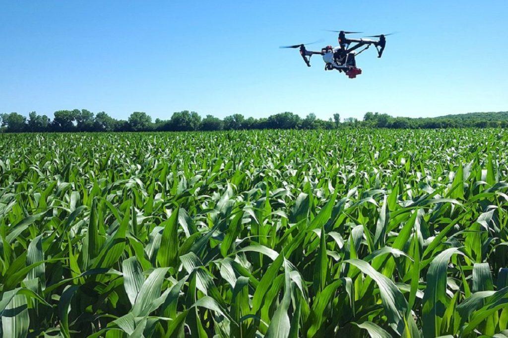 Droni in agricoltura: lotta biologica